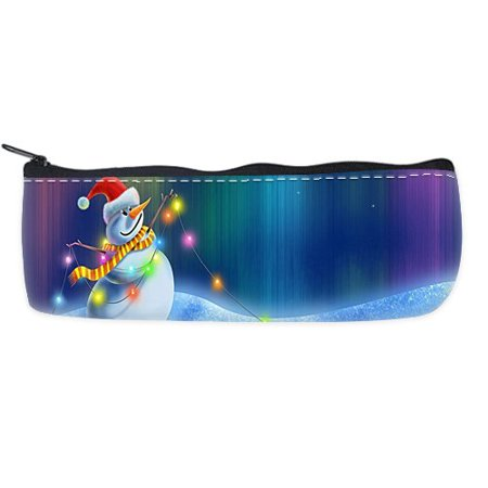 - POPCreation Snowman School Pencil Case Pencil Bag Zipper Organizer Bag