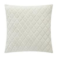 "Mainstays Cut Faux Fur Throw Pillow, 18"" x 18"", Ivory"