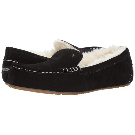 1398a2e2759 Womens Koolaburra by UGG Lezly Slip On Loafers, Black