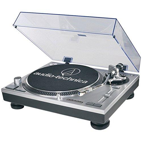 Audio-Technica AT-LP120-USB Direct-Drive Professional Turntable in Silver by Audio-Technica