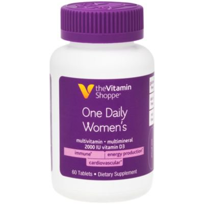 One Daily Women's Multivitamin (60 Tablets) by The Vitamin Shoppe One Daily 60 Tablets