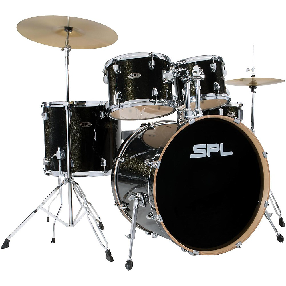 Sound Percussion Labs Unity Birch Series 5-Piece Complete Drum Set Black Mist