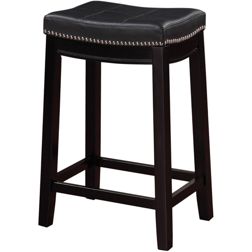 Linon Claridge Backless Counter Stool 24 Inch Seat Height Multiple