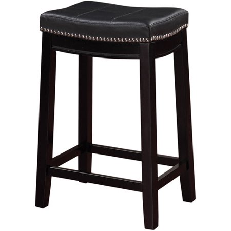 Linon Claridge Backless Counter Stool, 24 inch Seat Height, Multiple - Amisco 26 Inch