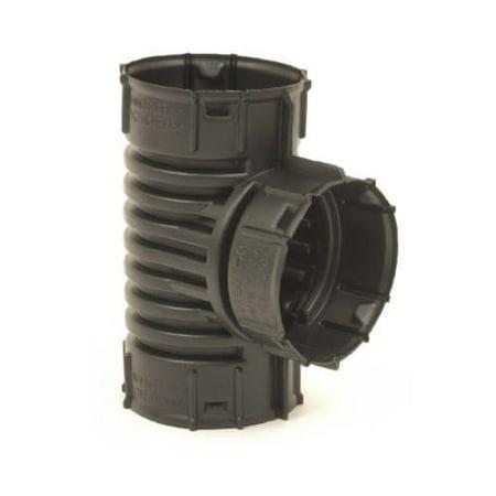 Advanced Drainage Systems 0421Aa 4 Inch Poly Snap Drain Tube Tee
