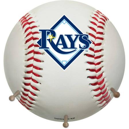 MLB Tampa Bay Rays Baseball Coat Rack by