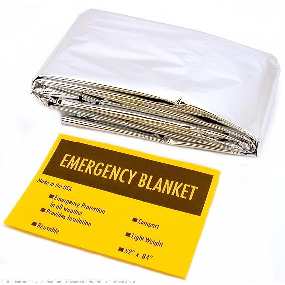 Click here to buy Thermal Emergency Blanket Camping First Aid Rescue Tool by Hawk Importers.