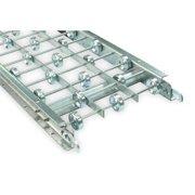 ASHLAND CONVEYOR 15X10X05G Skatewheel Conveyor,5ft L,15in. W