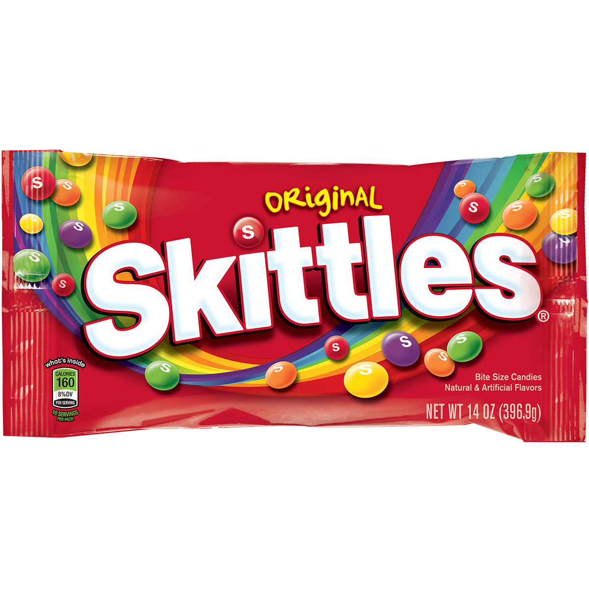 Skittles Original Fruit Chewy Candy, 14 Oz.