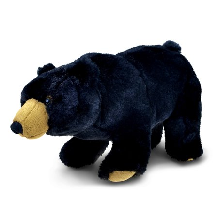 Small Black Bear (Super Soft Plush Wild Small Black)