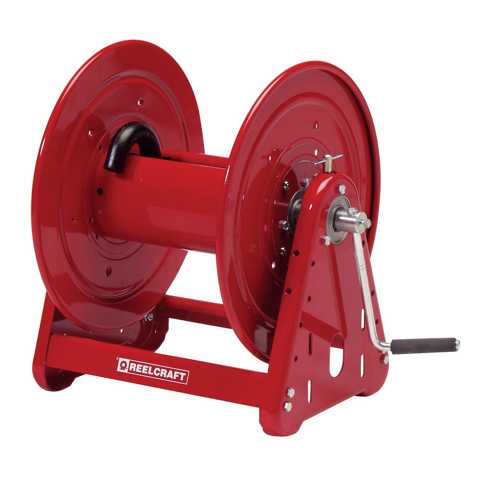 Reelcraft Heavy Duty Hand Crank 3 4 in. Hose Reel 100 ft. by Reelcraft