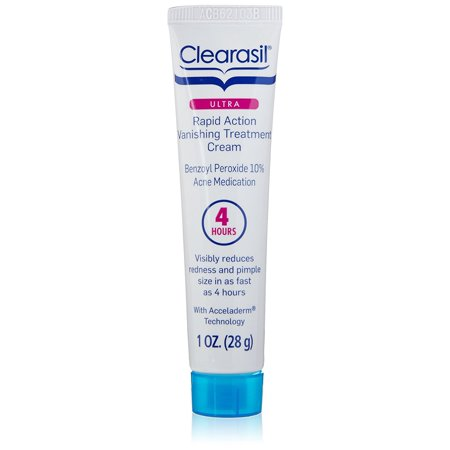 Clearasil Ultra Rapid Action Vanishing Acne Treatment Cream, 1