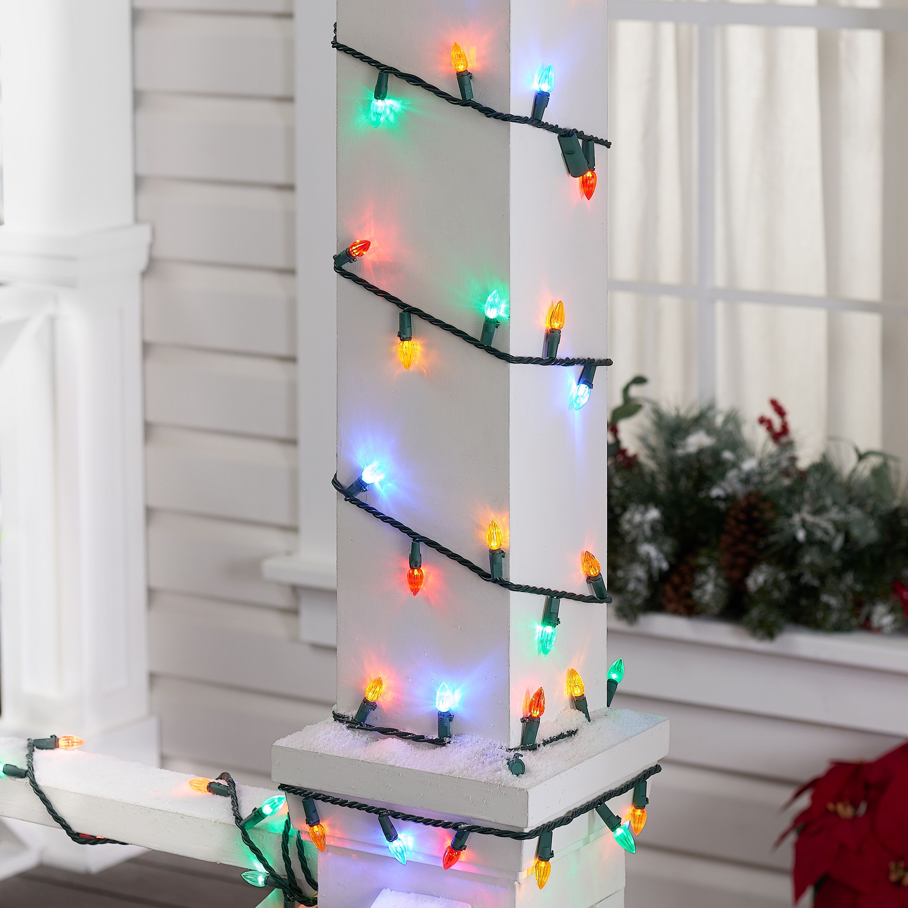 225 Count Multicolor LED String