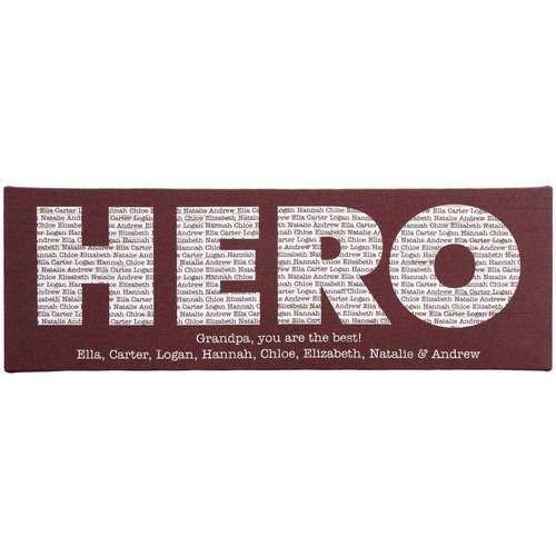 Personalized Hero Canvas