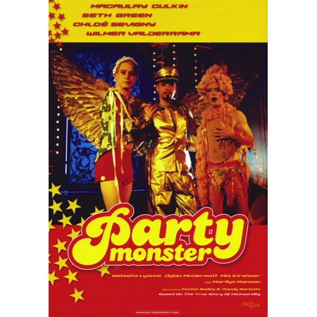 Party Monster (2003) 11x17 Movie Poster - Party Movie
