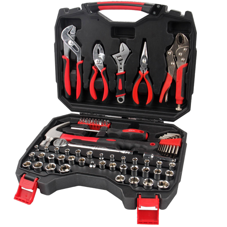 Apollo Tools DT4928 80-Piece Mechanics Tool Kit