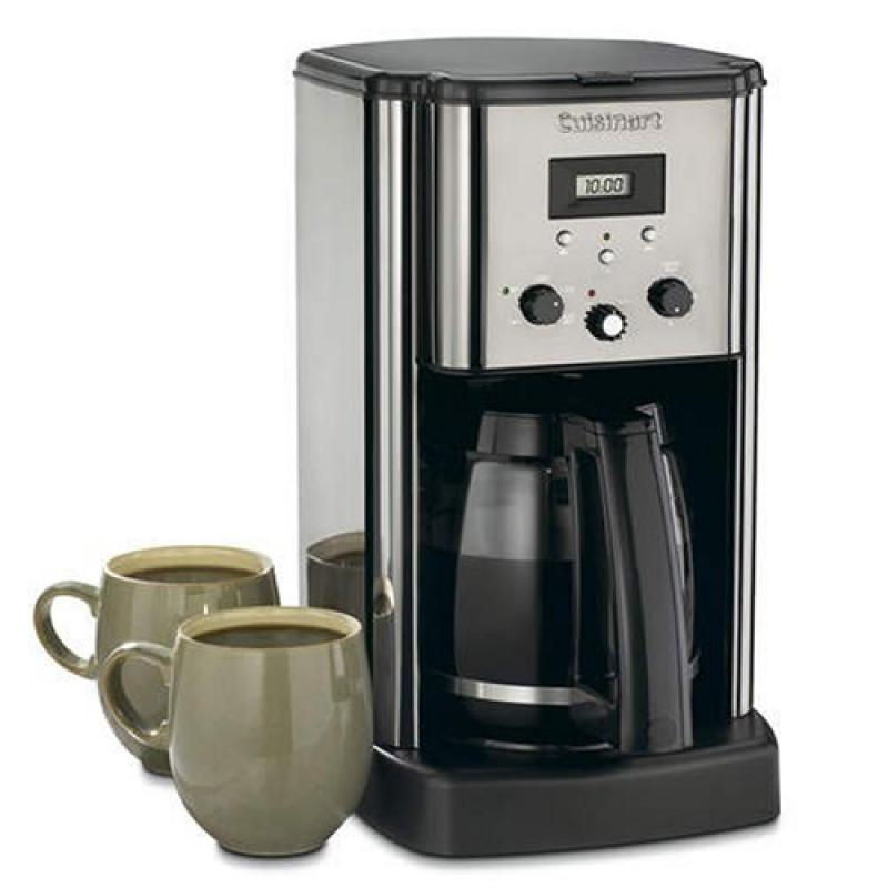 Conair Cuisinart 12-cup Coffee Maker Brushed Metal Finish