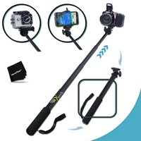 Premium 3 in 1 Handheld MONOPOD Pole for GoPro HERO Cameras, SMARTPHONES and ...