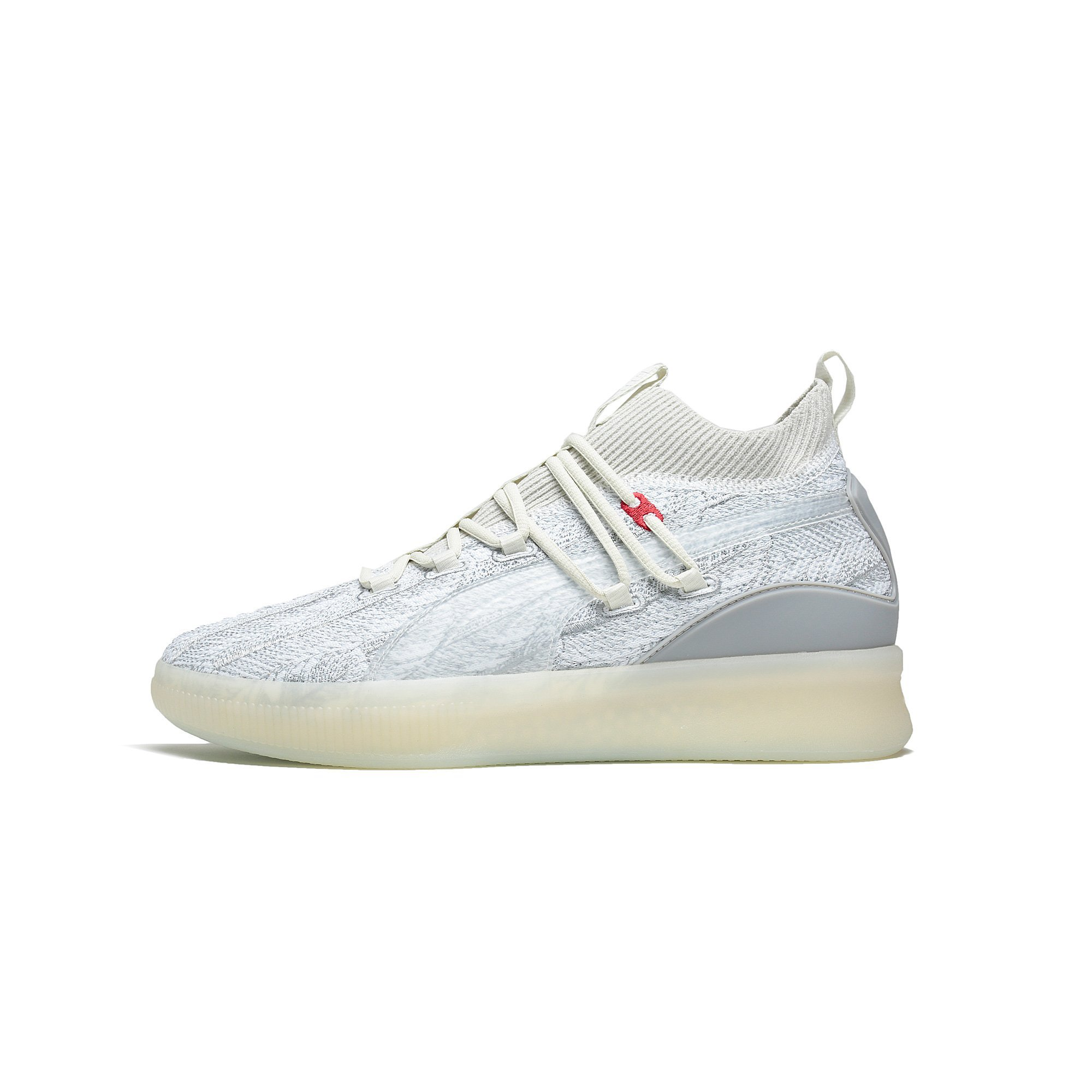the best attitude a2289 15c70 Mens Puma Clyde Court Disrupt Peace On Earth Vaporous Gray 191896-01
