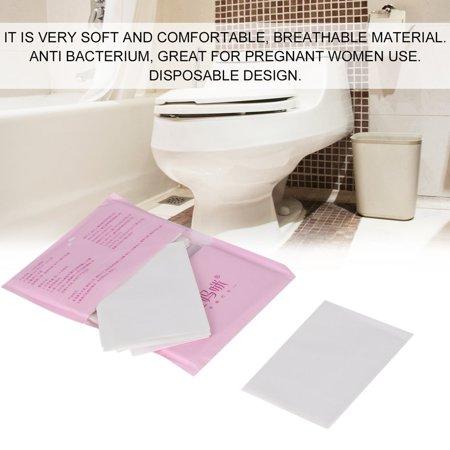 10pcs Set Disposable Paper Toilet Seat Covers Travel