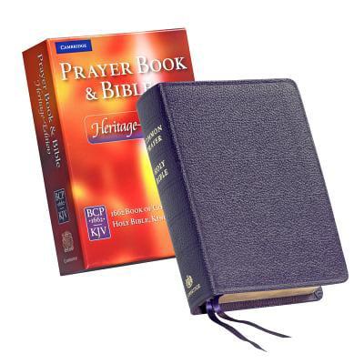 Prayer Book & Bible-KJV-Heritage