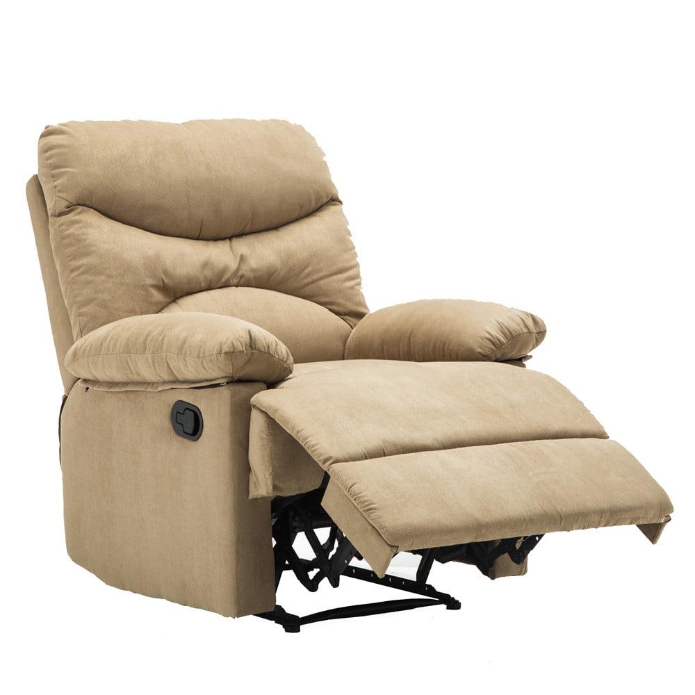 Massage Recliner Chair, Microfiber Ergonomic Lounge Living