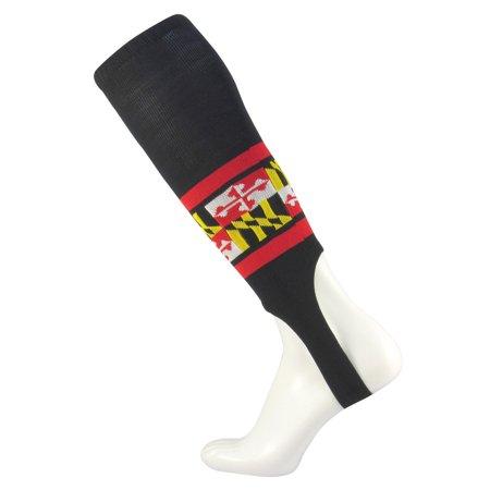 - TCK Black Maryland Flag Nylon Baseball Stirrups with 7 inch Opening