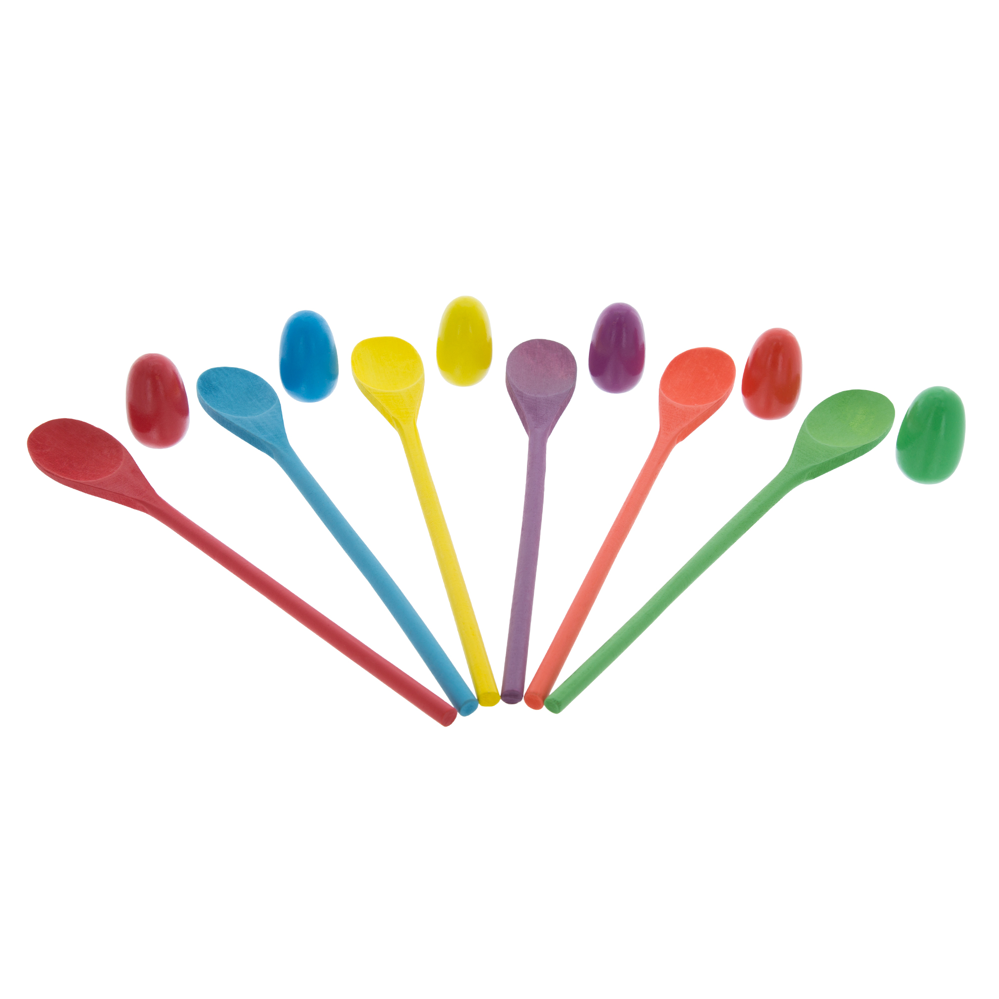 Wooden Egg and Spoon Race Game by Hey! Play!