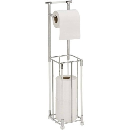 Bath Bliss Acrylic Toilet Tissue Reserve And Dispenser