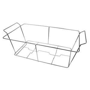Steel Metal Server Wire Stand for Aluminum Foil Trays Buffet Pot Luck Holder](Buffet Stand)