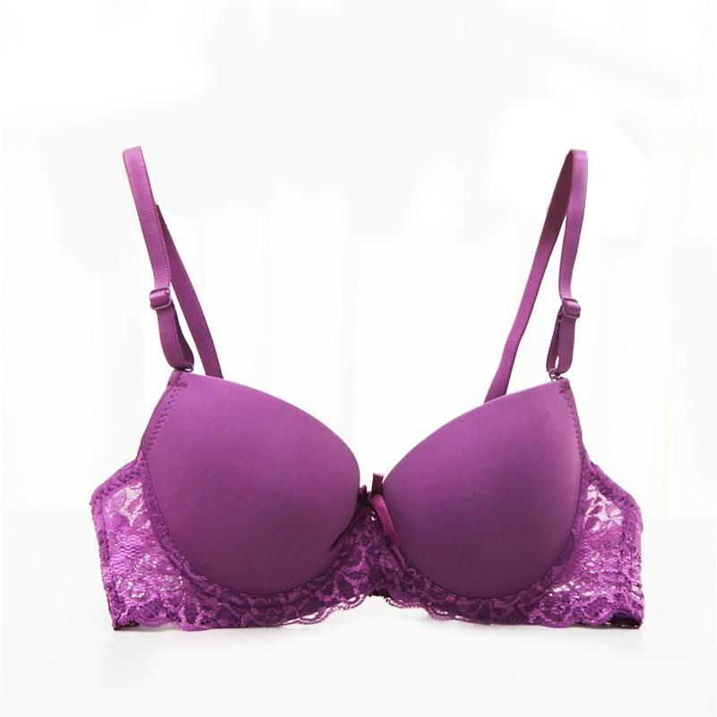 Details about  /Lace Floral Women Seamless Bra Wireless Padded Push Up Super Comfort Lingerie