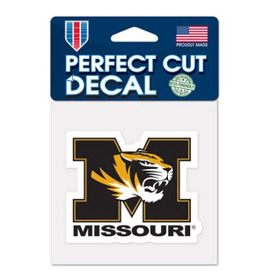 Missouri Tigers 4x4 Perfect-Cut Car Auto Decal Sticker