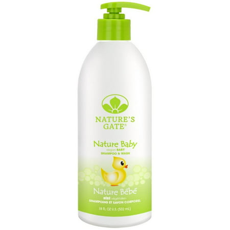 2 Pack   Natures Gate Nature Baby Soothing Shampoo   Wash 18 Oz
