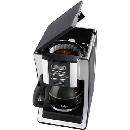 Mr. Coffee 12-Cup Programmable Coffee Maker, Black BVMC-SJX33