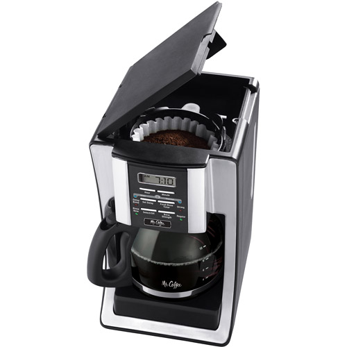 Mr. Coffee Programmable Coffee Maker, 12-Cup, Black (BVMC-SJX33)