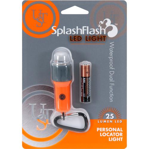 Ultimate Survival Technologies SplashFlash Flashlight, Orange, 25 Lumens by Ultimate Survival Technologies