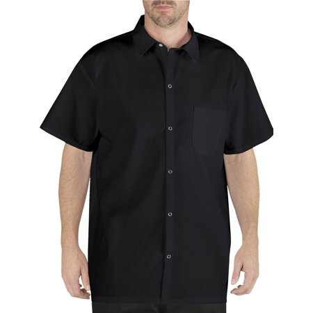 Chef Code Men's Work Shirt with Snap Buttons and Chest Pocket CC125