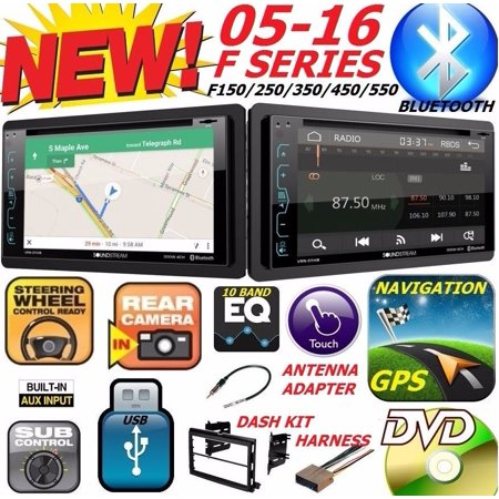 04-16 FORD F150/250/350/450/550 GPS NAVIGATION CD DVD USB BLUETOOTH Radio