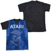Atari - Inside Out - Short Sleeve Black Back Shirt - X-Large