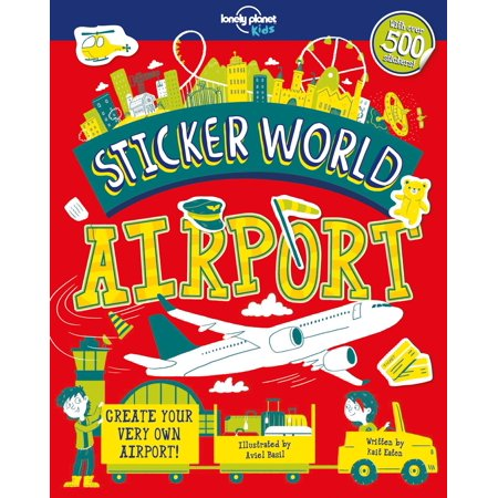 Sticker World: Airport (The Busiest Airport In The World By Flights)