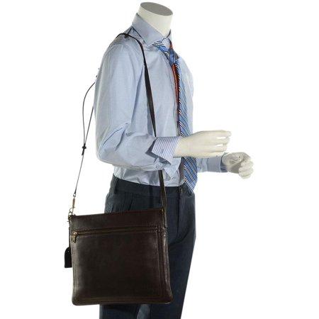 acd234616344 Louis Vuitton Utah Leather Sac Plat Crossbody 216161 Brown Messenger Bag