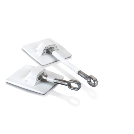 Refrigerator Door Lock WITHOUT PADLOCK - White - Walmart.com