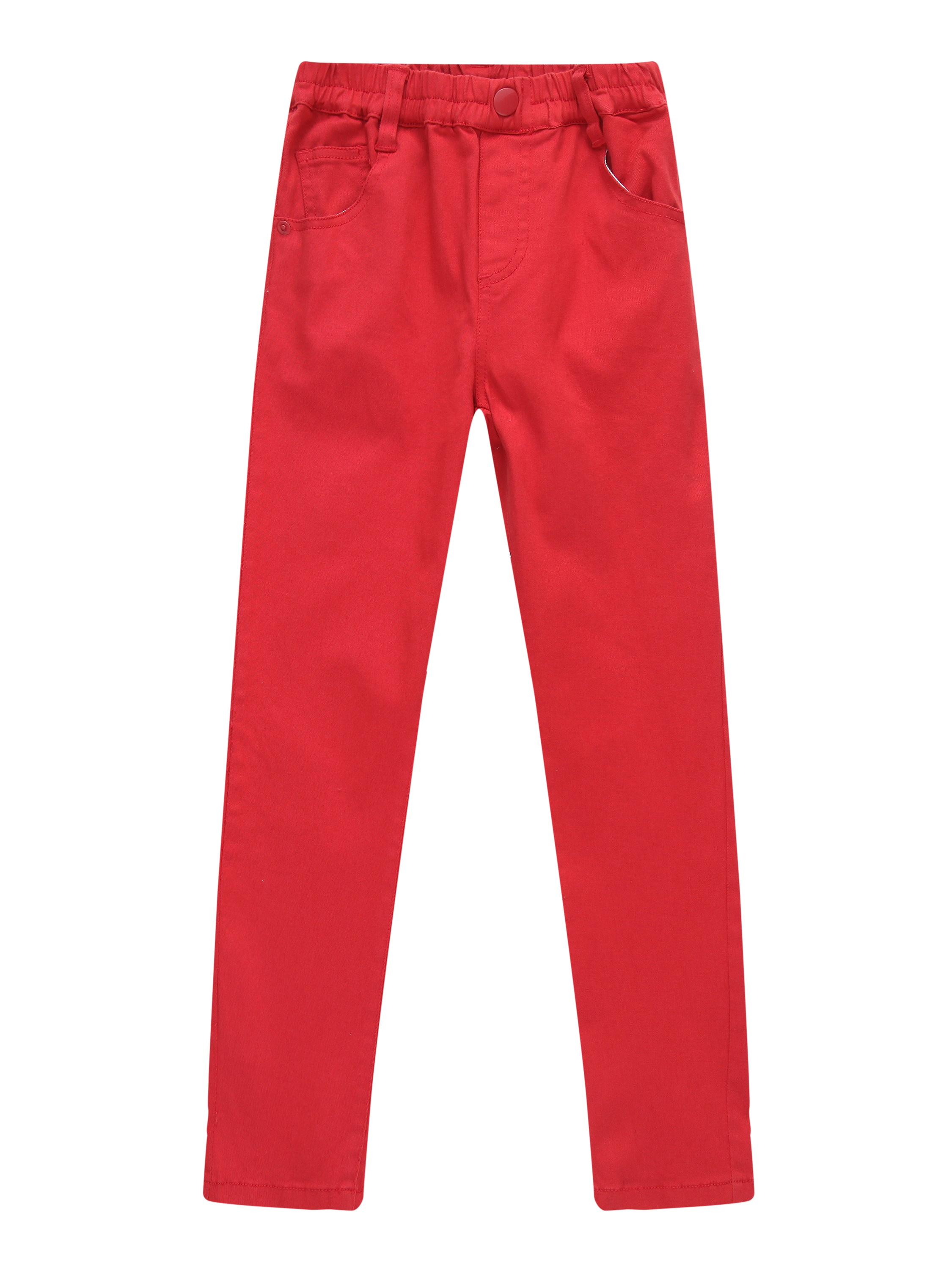 Richie House Girls' Leisure Pants with Elastic Waistband RH2239