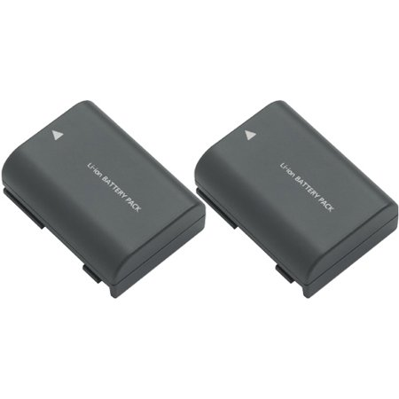 2400mAh Battery for Canon NB-2L NB-2LH Fits Canon EOS Digital Rebel XT XTI Cameras - 2 Pack ()