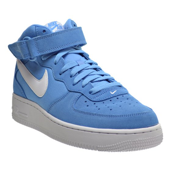 Nike - Nike Air Force 1 MID  07 Men s Shoes University Blue White ... 927f92a51d59
