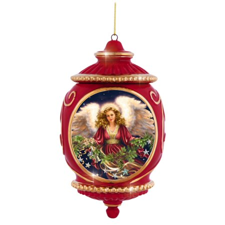Precious Moments Angel His Love Is Never Ending Bisque Porcelain Ornament