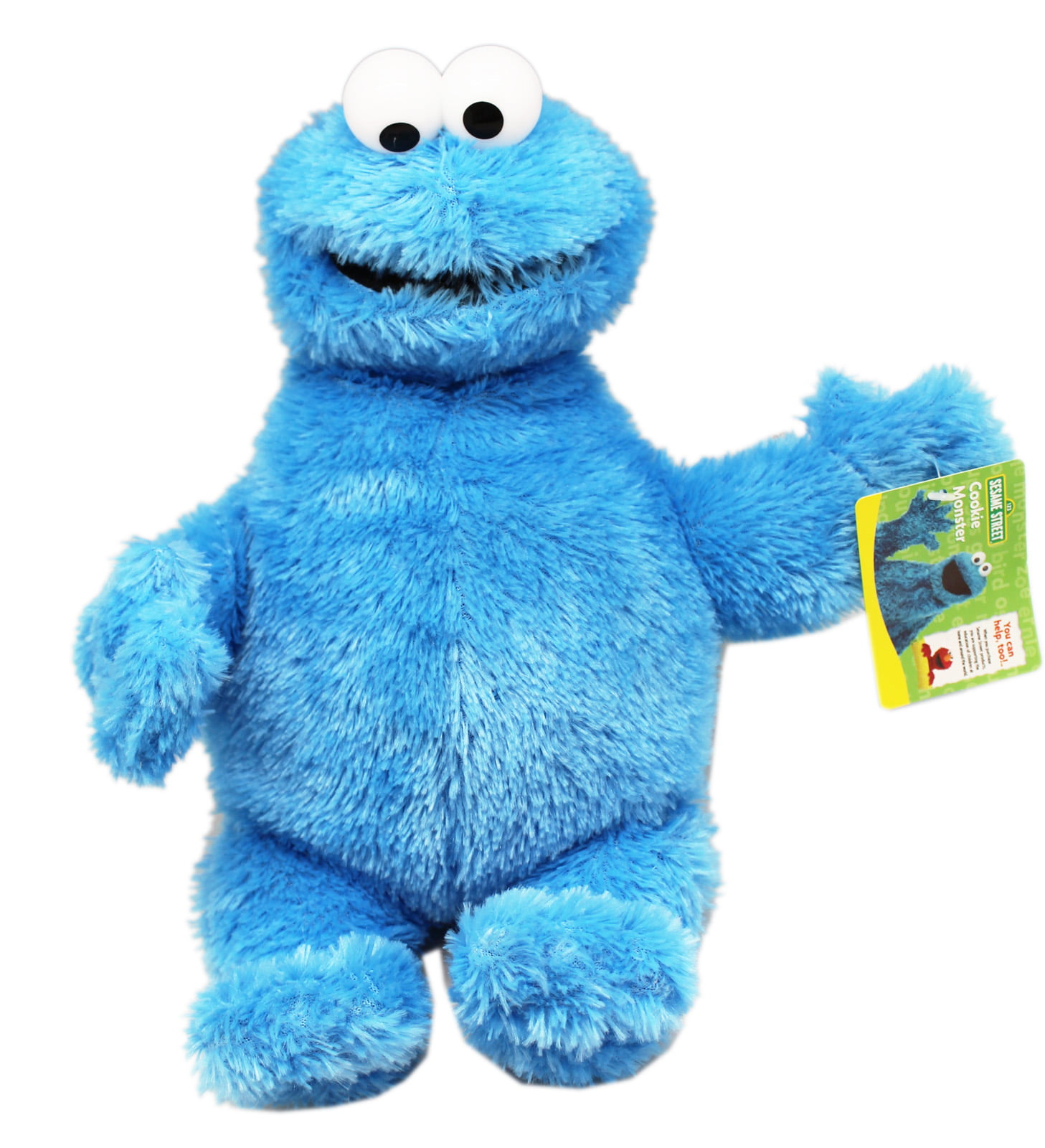Sesame Street s Cookie Monster Small Size Kids Plush Toy 10in