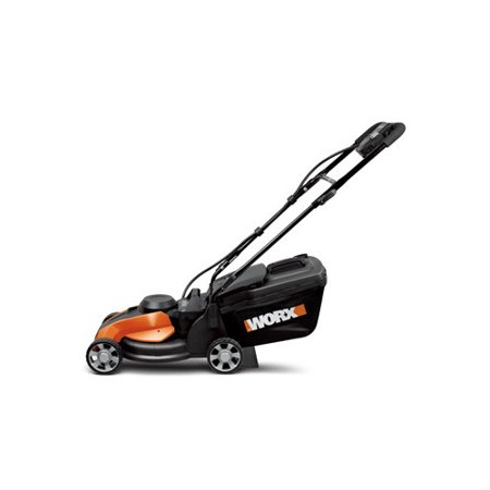 Worx Wg775 14  Cordless Electric Powered Lawn Mower