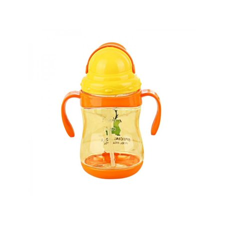 Bottle Section (Nicesee Baby Silicone Water Milk Feeding Bottle Straw Suction)