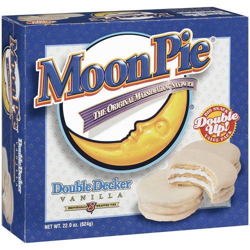 MoonPie Double Decker Vanilla Marshmallow Sandwich, 22 oz